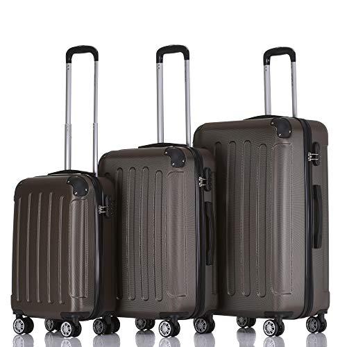 BEIBYE Hartschalen-Koffer Trolley