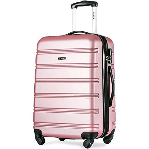 Flieks Hartschalen Trolley Koffer mit 4 Rollen und Zahlenschloss