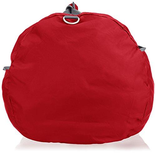 AmazonBasics - Seesack / Reisetasche, groß, 98 l, Rot - 5