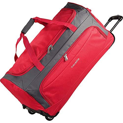Travelite Garda XL Reisetasche groß mit Rollen und Trolley-Funktion 72 cm