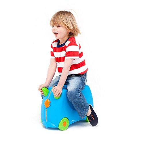 Trunki Koffer für Kinder Terrance blue - 5