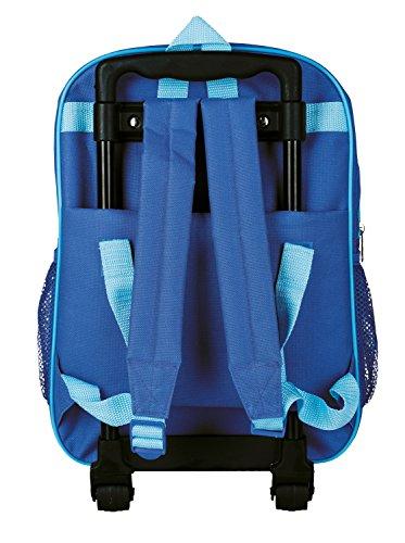 Idena 2 in 1 Kinder Rucksack Trolley Pirat Kindergepäck, 40 cm, Blau(Pirat) - 2