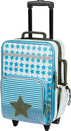 Lässig Trolley Kinderkoffer / Reisekoffer für Kinder Starlight olive