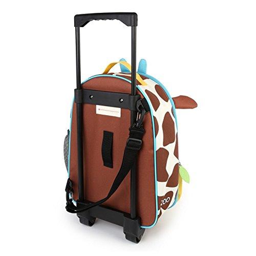 Skip Hop Zoo Luggage, Reisetrolley für Kinder, mit Namensschild, mehrfarbig, Giraffe Jules - 2
