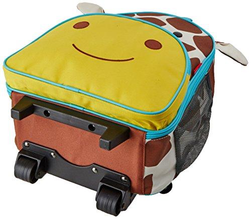 Skip Hop Zoo Luggage, Reisetrolley für Kinder, mit Namensschild, mehrfarbig, Giraffe Jules - 4
