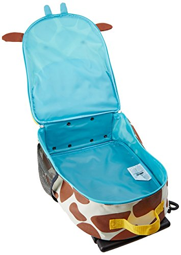 Skip Hop Zoo Luggage, Reisetrolley für Kinder, mit Namensschild, mehrfarbig, Giraffe Jules - 5