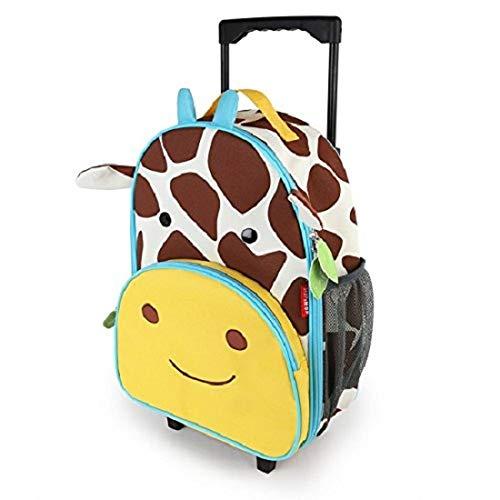 Skip Hop Zoo Luggage, Reisetrolley für Kinder, mit Namensschild, mehrfarbig, Giraffe Jules - 7
