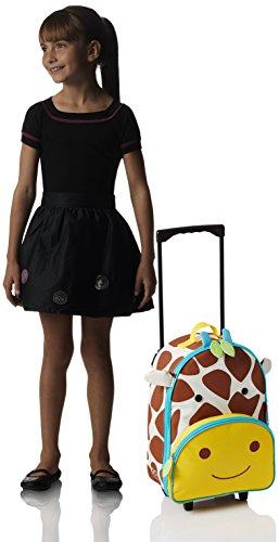 Skip Hop Zoo Luggage, Reisetrolley für Kinder, mit Namensschild, mehrfarbig, Giraffe Jules - 8
