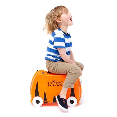 Trunki Koffer für Kinder Tipu Tiger - 2