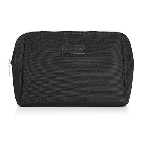 CHICECO Nylon Groß Kosmetiktasche für Handtasche, 1 Schwarz, L - 8