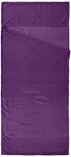 Nod-Pod 100% Reine Seide Innenschlafsack Hüttenschlafsack Inlett Sleeping Bag Liner - viele Farben (Violett) - 2