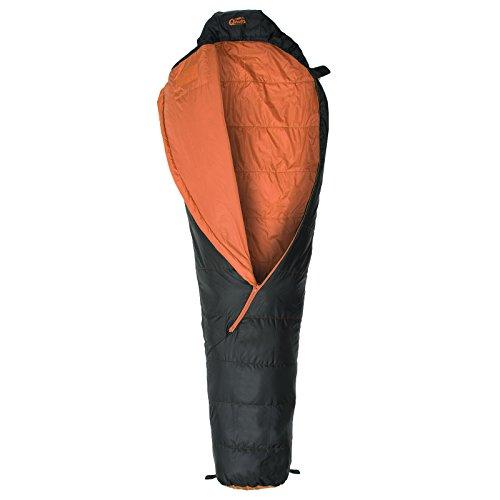 Sommer-Schlafsack Qeedo Light Hitazo, kleines Packmaß (19 x 16 cm) / extrem klein& leicht (670g) - orange - 3