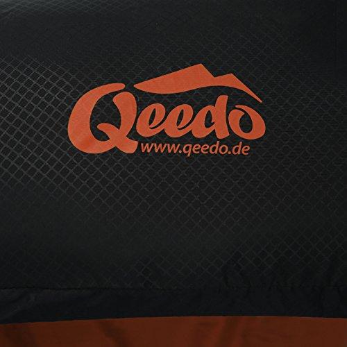 Sommer-Schlafsack Qeedo Light Hitazo, kleines Packmaß (19 x 16 cm) / extrem klein& leicht (670g) - orange - 9