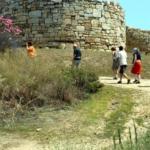 chalkidiki auf-in-die-Ruinen