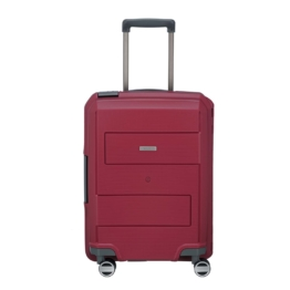 Travelite Makro 4-Rollen Bordtrolley S, Rot Rot